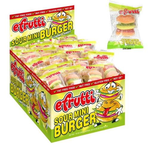 eFrutti Sour Mini Burger 60 Count