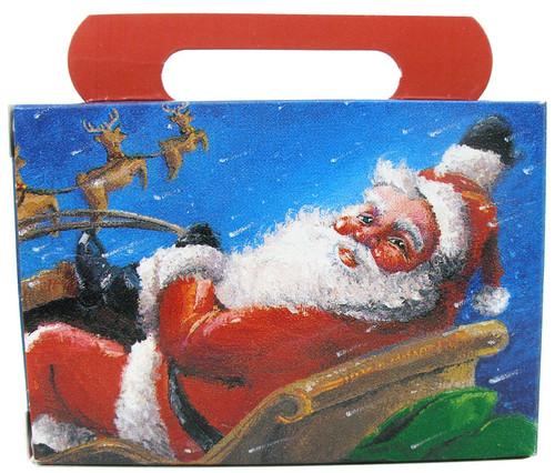 Empty Christmas Candy Boxes - Santa