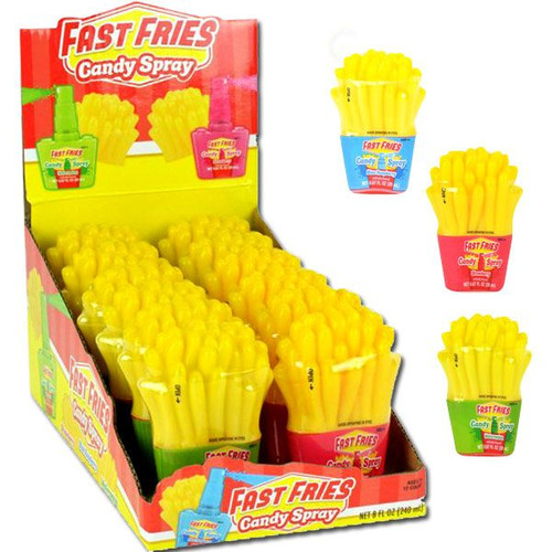 Fast Fries Candy Spray 12 Count