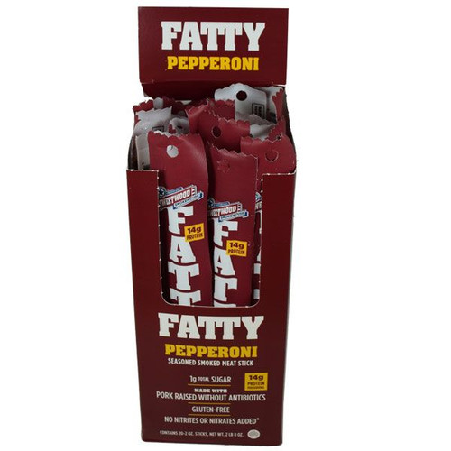 Fatty's Pepperoni Meat Sticks 20 Count