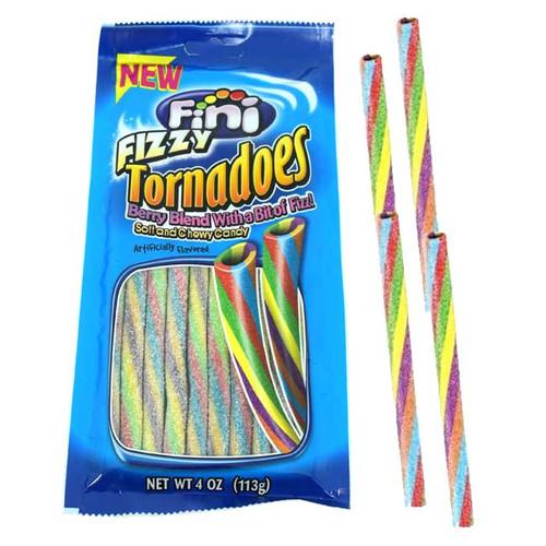 Fini Tornadoes Fizzy Licorice 4oz