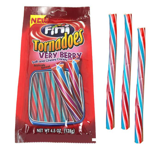 Tornadoes Very Berry Licorice 4.5oz