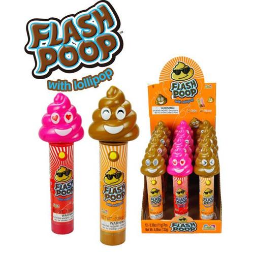 Flash Poop Pops 12 Count