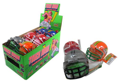 Football Helmet Jawbreaker Candy 12 Count