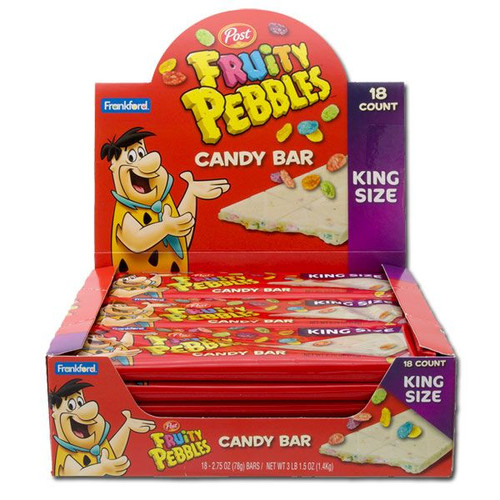 Fruity Pebbles White Chocolate Bar 18 Count