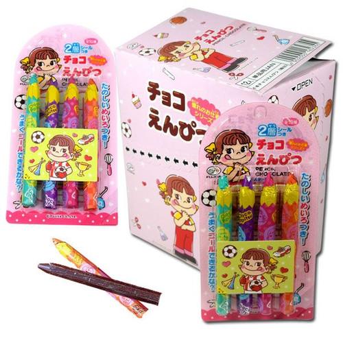 Fujiya Chocolate Pencil Candy 12 Packs