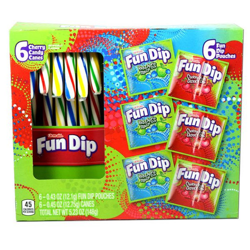 Fun Dip Candy Canes 6 Count
