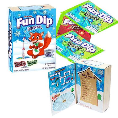 Fun Dip Christmas Candy Book