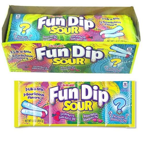 Fun Dip Sour 24 Count