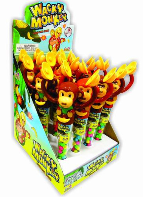 Wacky Monkey With Candy 12 Count
