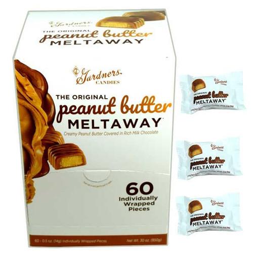 Gardner's Peanut Butter Meltaway 60 Count