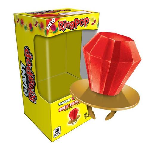 Giant Ring Pop Strawberry 24oz