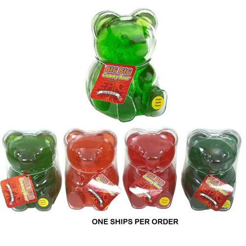 Big Big Gummy Bear Assorted (1 Per Order)