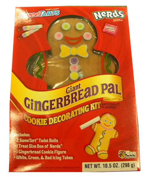 Giant Gingerbread Pal Cookie Decorating Kit
