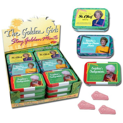 Golden Girls Candy Mints 18 Count