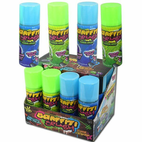 Graffiti Spray Candy Splash 12 Count