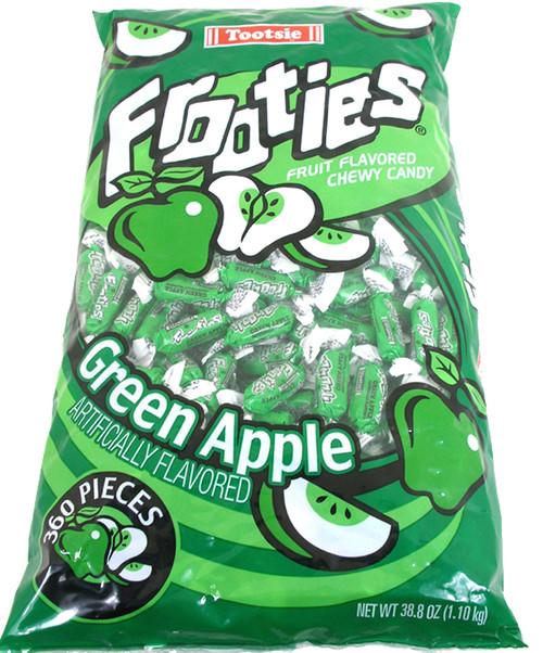Green Apple Tootsie Frooties 360ct