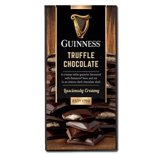 Guinness Dark Chocolate Truffle Bar 3.1oz