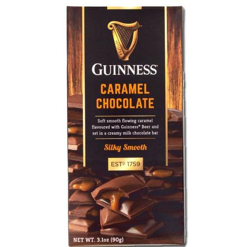 Guinness Milk Chocolate Caramel Bar 3.1oz