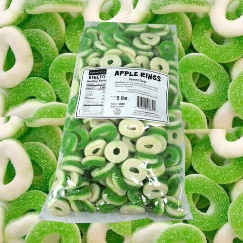 Gummi Apple Rings 5lb Kervan