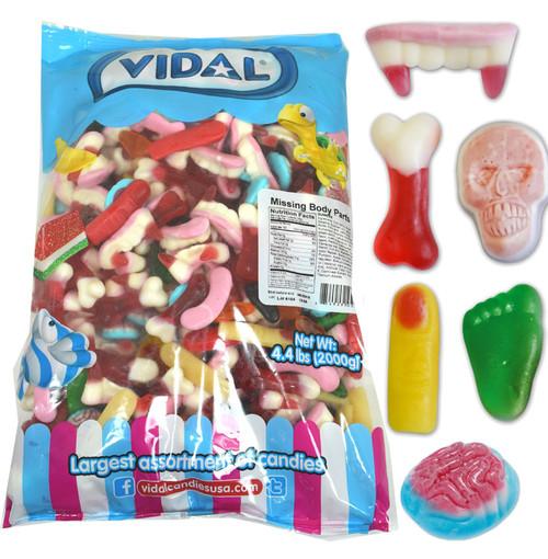 Gummi Missing Body Parts 4.4lb Bulk Bag