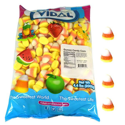 Gummi Candy Corn 4.4lb Bulk Bag