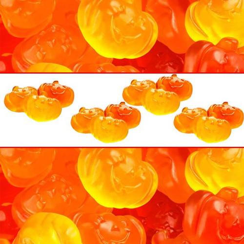 Gummi Fall Pumpkins 5lb Bag Bulk