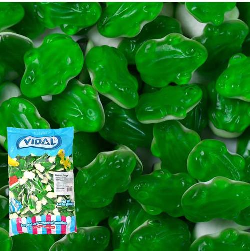 Gummi Green Frogs 4.4lb Bag