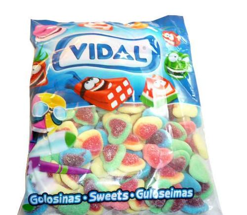Gummi Hearts Assorted Colors 4.4lb