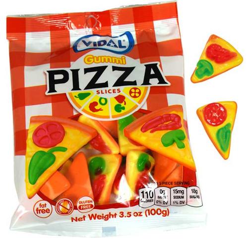 Gummi Pizza Slices 3.5oz Bag