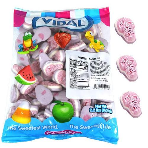 Gummi Jelly Skulls 2.2lb Bag