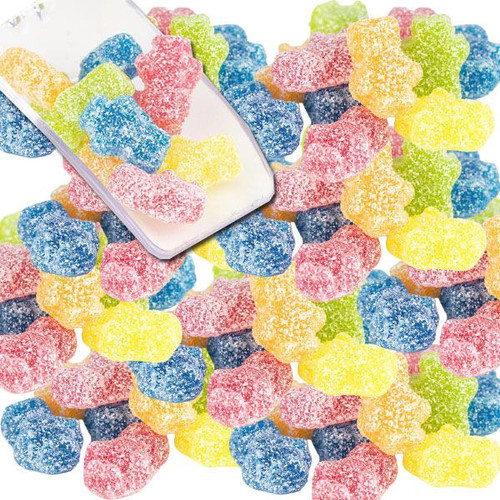 Gummi Sour Blockheads Candy 4.4lb