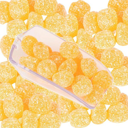 Gustaf's Gummi Sour Peach Buttons 4.4lb (GV)
