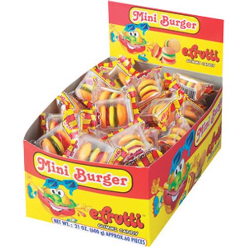 Gummy Mini  Burgers