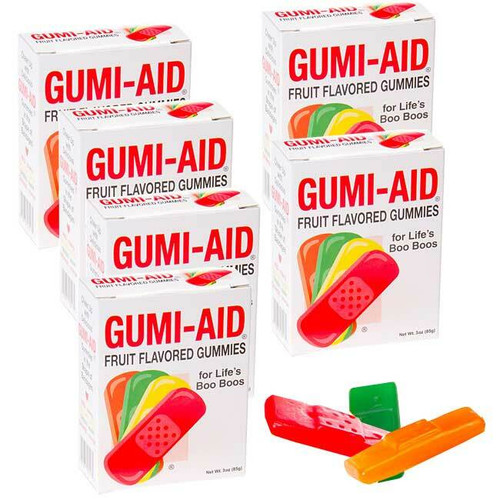 Gumi Aid Gummy Band-Aids 12 Count