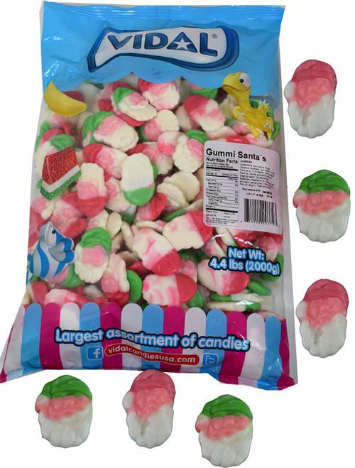 Gummi Santas 4.4lb Bag