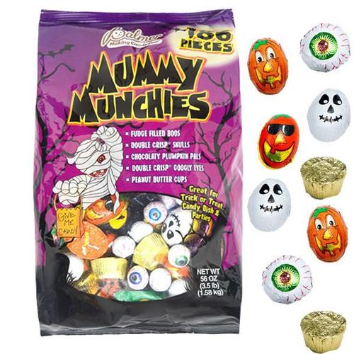 Halloween Mummy Munchies 56oz Bag
