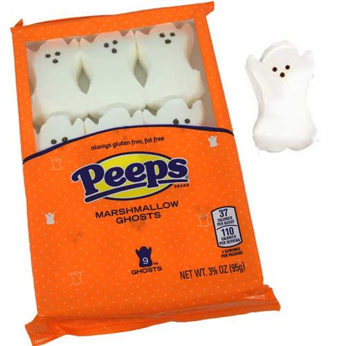 Halloween Marshmallow Peeps - Ghosts