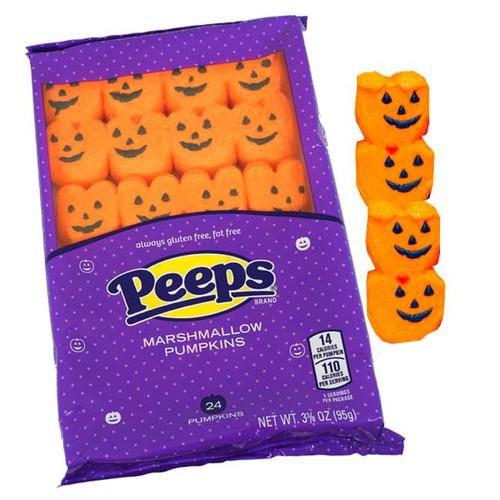 Halloween Marshmallow Peeps - Pumpkins