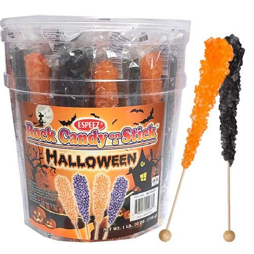 Halloween Rock Candy Sticks 36 Count