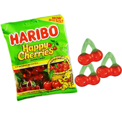 Haribo Happy Cherries 5oz Bag