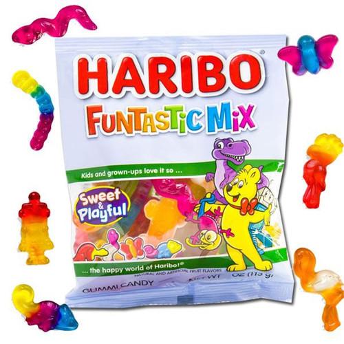 Haribo Funtastic Gummi Mix 5oz
