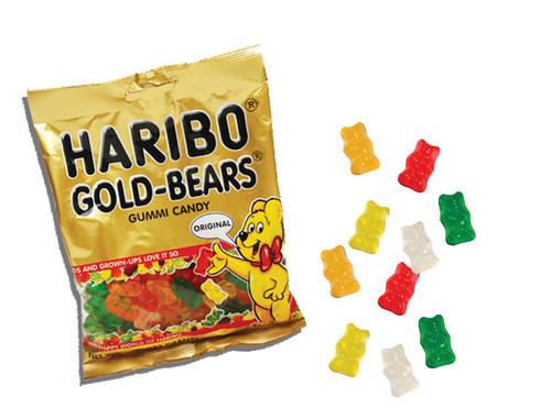 Haribo Gummi Bears 5oz Bag