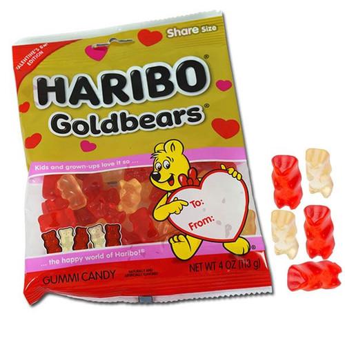 Haribo Gummi Bears Valentine's Day 4oz