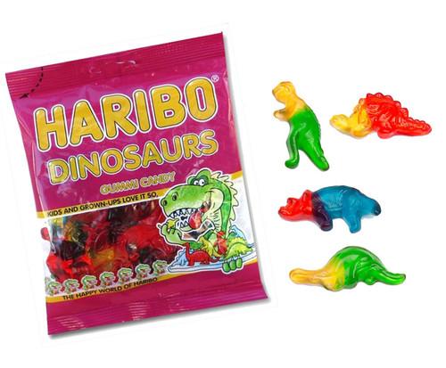 Haribo Gummi Dinosaurs 5oz Bag