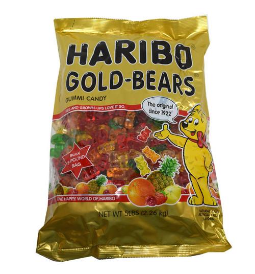 Haribo Gummi Gold Bears Assorted 5lb
