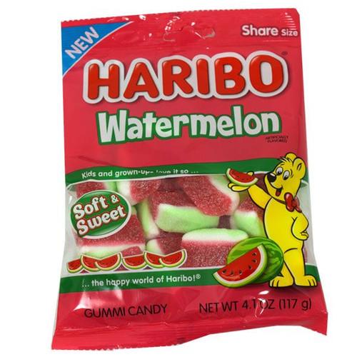 Haribo Gummi Soft Watermelons 4oz