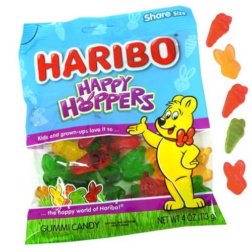 Haribo Happy Hopper Gummies 4oz Bag
