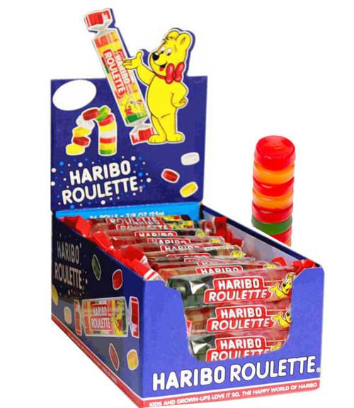 Haribo Roulette Gummi Candies 36 Count