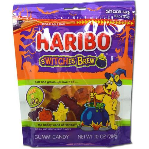 Haribo Switches Brew Gummies 10oz Bag